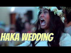 Wedding haka moves New Zealand Maori bride to tears...this may be my favorite haka. Note the women do it also.