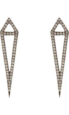 Eva Fehren Diamond Dagger Earrings - $4,950