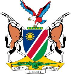 Archivo:Coat of arms of Namibia.svg