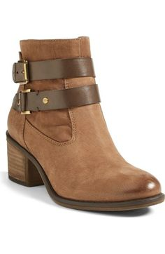 651474486 Franco Sarto  Linden  Leather Bootie (Women) (Nordstrom Exclusive)  available at