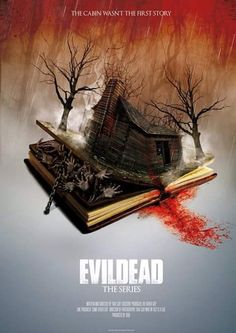 Evil Dead tv show poster!!!!!!!! :D >> Ok, I swear, if they make a series out of it, I. WILL. WATCH. EVERY. SINGLE. EPISODE. Asdfghjkl