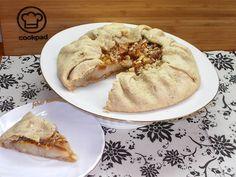 Diós - körtés Francia pite (galette) Apple Pie, Nutella, Pancakes, Breakfast, Desserts, God, Apple Cobbler, Breakfast Cafe, Tailgate Desserts