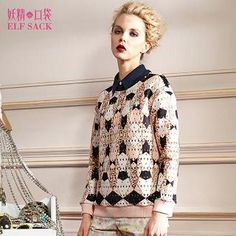 Buy 'ELF SACK – Patterned Pullover' with Free Shipping at YesStyle.com.au. Browse and shop for thousands of Asian fashion items from China and more!