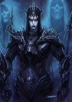 ArtStation - black metal king, mist XG