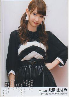 AKB48 鈴懸なんちゃら 劇場盤特典写真 永尾まりや