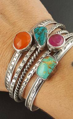 Jewelry Tags, Beaded Jewelry, Jewlery, Bohemian Jewelry, Crystal Jewelry, Turquoise Cuff, Turquoise Bracelet, American Indian Jewelry, Sterling Silver Cuff Bracelet