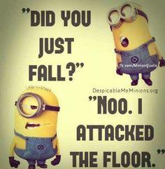 best Funny Quotes : 24 Even Funnier Minion Memes Funny Minion Pictures, Funny Minion Memes, Funny School Jokes, Some Funny Jokes, Crazy Funny Memes, Funny Puns, Really Funny Memes, Funny Laugh, Funny Relatable Memes