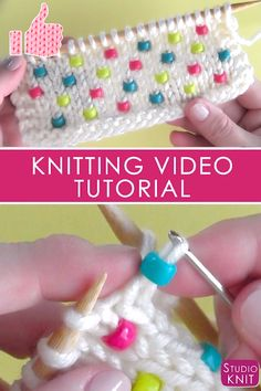 Star Ornament Free Knitting Pattern and Video Tutorial So cool! I'm learning to Knit Beads into any project with Studio Knit. Upcycled T-Shirt Canvas Wall Art – Stricken ist so einfach wie 3 Das Stric… – – Crochet Backpack – … Knitting Help, Knitting Videos, Knitting Stitches, Knitting Patterns Free, Stitch Patterns, Crochet Patterns, Easy Patterns, Knitting Beginners, Sewing Patterns
