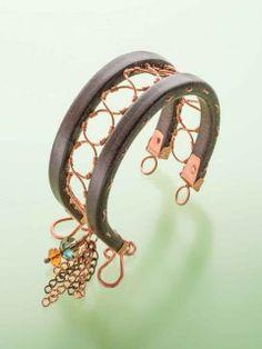 Crop Circles; Tamara Honaman; Step by Step Wire Jewelry, April/May 2015 | InterweaveStore.com