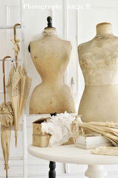 Dreams come true ~ Vintage Dress-maker's dummies.