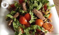 Fitness Dessert.de Salat Rinderstreifen 01 770x460 Gemischter Salat mit Rinderstreifen