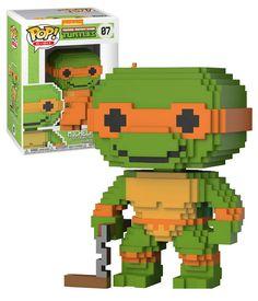 Funko POP! 8-Bit Nickelodeon Teenage Mutant Ninja Turtles #07 Michelangelo - New, Mint Condition.  https://www.ebay.com.au/itm/Funko-POP-8-Bit-Teenage-Mutant-Ninja-Turtles-07-Michelangelo-New-Mint-/232651838564 OR https://www.supportivepc.com  #Funko #FunkoPop #Nickelodeon #TeenageMutantNinjaTurtles #Collectibles