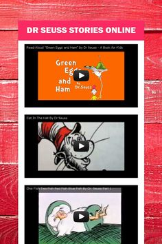 Dr Seuss Stories online