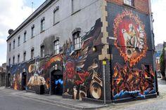Great picture of Lakota, great artwork. Graffiti Artwork, Skate Park, Street Art Graffiti, Urban Landscape, Street Artists, Banksy, Great Pictures, Continents, Bristol
