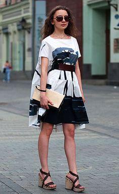 Moscow street fashion