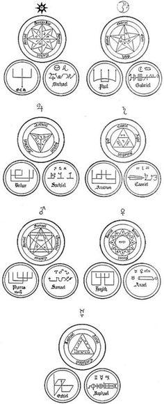 Seven seals.