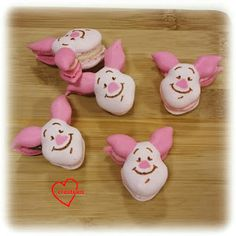 Loving Creations for You: Piglet Assorted Macarons