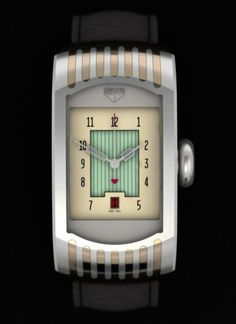 Art Deco watch Dear Father Christmas, I promise to be REALLY good. Will you bring me a watch like this, pretty pleeeeeeease? Bijoux Art Deco, Art Deco Jewelry, Art Nouveau, Cool Watches, Watches For Men, Unique Watches, Art Deco Watch, Estilo Art Deco, Art Deco Design