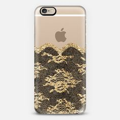 Faux Gold and Black Romantic Lace iPhone 6 Case by Organic Saturation | Casetify. Get $10 off using code: 53ZPEA