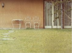 Her home - dry and desolate - - - - - - - - - - Luigi Ghirri, Modena (1972)