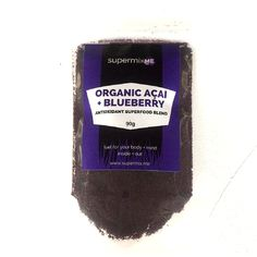 Organic Açaí   Blueberry Antioxidant Superfood Blend