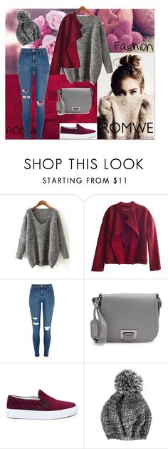 """""""Sweater <3"""" by ermina996 ❤ liked on Polyvore featuring J Brand, River Island, Badgley Mischka and Amb Ambassadors of minimalism"""