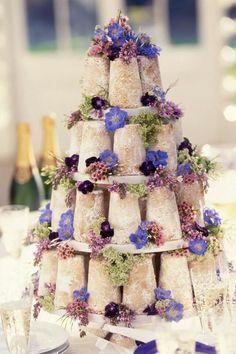 Beautiful wedding cake ever! <3