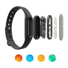 Original Xiaomi Miband 2 Smart Wristband Tracker TPSiV Band Watch BLACK #XIAOMI