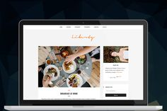 Liberty - Responsive Blog Theme by ThemeNeo on Creative Market