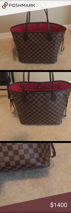 Louis Vuitton mm brand new Used once not my style. No pouch . Just the bag . It is hard to get the pic of the tag inside . Because it is new and the leather is still stiff . Code is sd3176 . Put the pic of the client copy of mine . 100% authentic. Can do go ($1100)lower on other sites. Comes with big Louis Vuitton bag Louis Vuitton Bags Totes