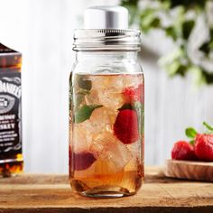 Whether headed to a hoedown, or getting home from a hayride, mix some old fashioned fun into your party drinks with our Redneck mason jar cocktail shaker. A play on the classic southern jar, this easy...