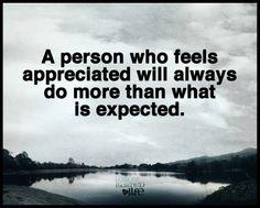 """#LessonsLearnedinLife  """"Feeling appreciated"""" #Brigitte  """"A person who feels appreciated will always do more than what is expected.""""  """"sentirse apreciado/a"""". #Brigitte  """"Una persona que se siente apreciada siempre va a hacer más de lo que se espera de ella""""."""