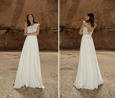 Limor Rosen Tribal wedding dress