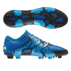 watch 87d19 d9361 Adidas X 15.1 FGAG Soccer Cleats (Solar BlueSolar YellowBlack)
