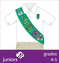 Juniors: Where to place insignia