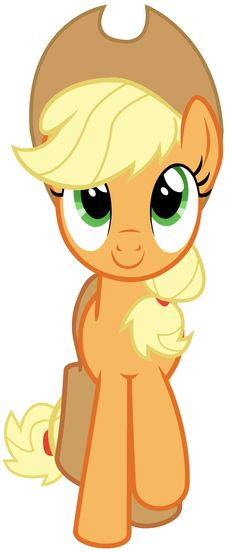 """Applejack Vector - Smile Parade with the Mane 6 from """"A Friend in Deed"""""""
