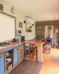 - Tiny houses for Rent in Coyhaique, XI Región, Chile Tiny Houses For Rent, Air B And B, Places Around The World, Corner Desk, Container, Cottage, Kitchen, Room, Renta