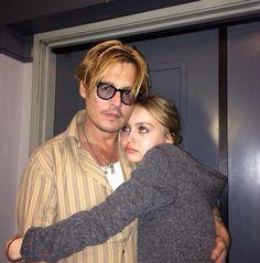 Johnny with Lili Rose Depp