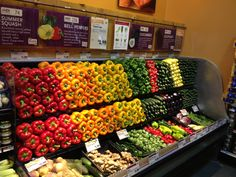 Whole foods produce department my peppers