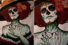 day of the dead by amandaamassacre