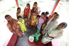 Women on the Water Committee for a village in West Bengal, India. (photo: Mo Scarpelli)