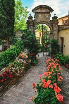 take through the gate