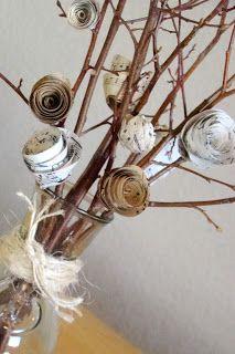 Spiral paper flower tutorial - cute & easy!