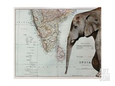 A Passage to India Giclee Print by Jane Wilson at Art.com