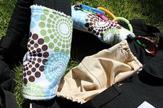 Baby Sucking/Drool Pads for an Ergo Baby Carrier Tutorial