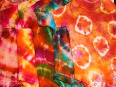 Custom 3 Pack of Tie-Dyed Baby Onesies-You Pick by PaisleyPistol