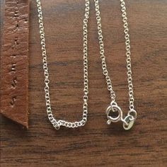 I just added this to my closet on Poshmark: Cute silver chain 925. Price: $30 Size: OS