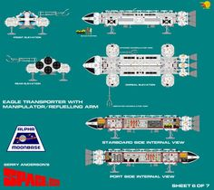 Gerry Andersons Space 1999 Eagle Transporterc6 of by ArthurTwosheds on DeviantArt