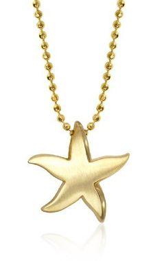 "Alex Woo ""Little Seasons"" 14kt Yellow Gold Starfish Pendant Necklace Alex Woo,http://www.amazon.com/dp/B005GBS8MU/ref=cm_sw_r_pi_dp_nnAIrbDEA5D9418E"