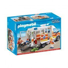 Rettungswagen mit Licht und Sound 5541  PLAYMOBIL®